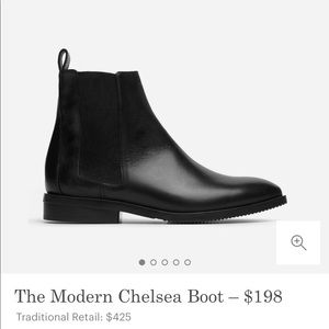 Everlane Chelsea boots. Barely worn. US 6.5